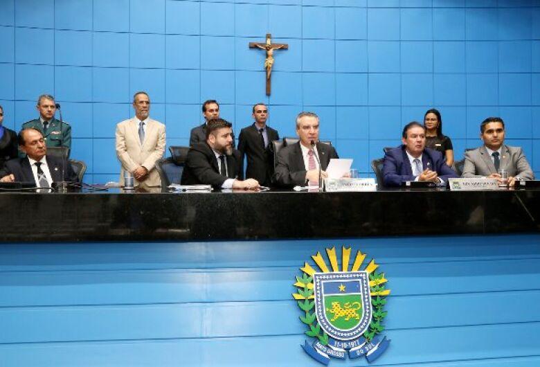 Mesa Diretora é eleita e Paulo Corrêa é o novo presidente da ALMS
