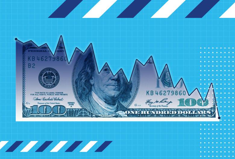Ibovespa opera em queda, com dólar em R$ 3,67