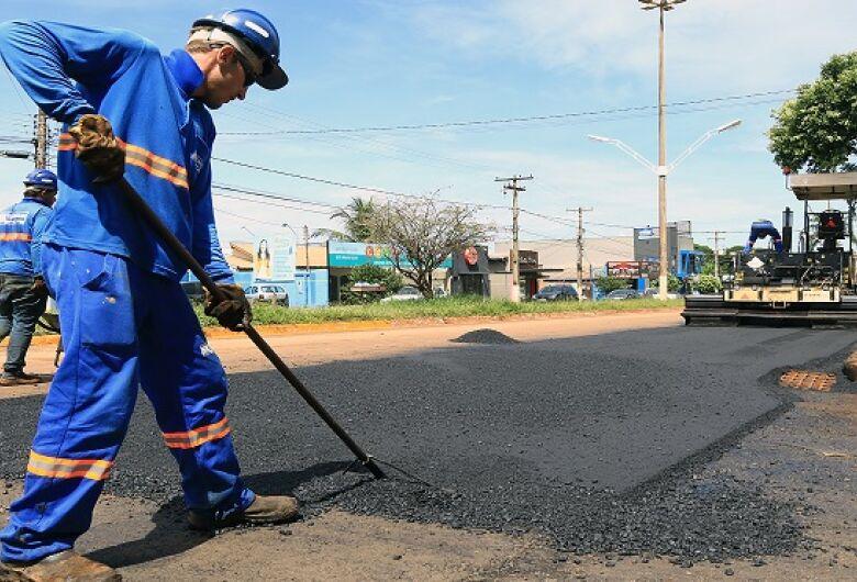 Restauração da Marcelino Pires atinge 68%, segundo governo