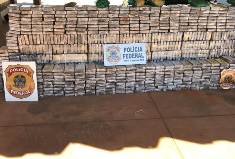 PF apreende 1 tonelada de cocaína no MS