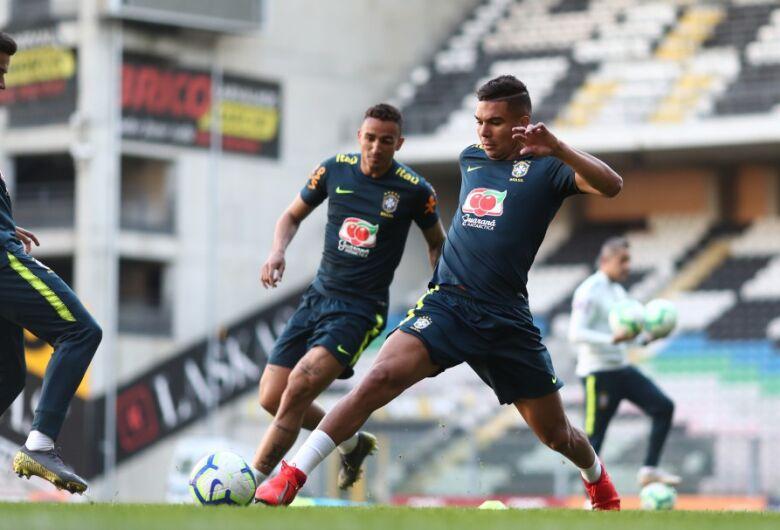 Casemiro será o capitão da Seleção Brasileira contra o Panamá