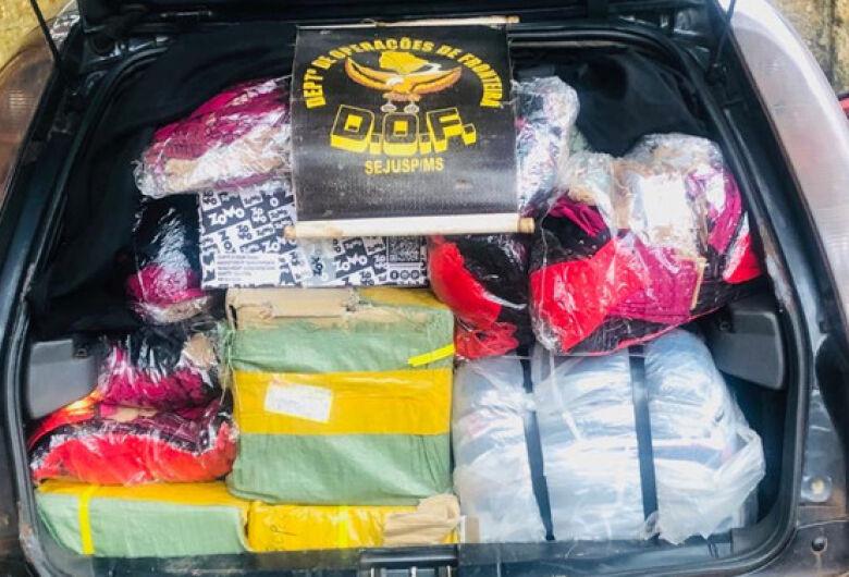DOF aprende duas cargas de essências de narguilé contrabandeadas