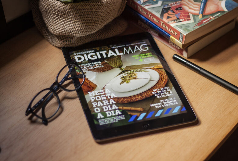 Revista Digital do O Progresso é sucesso entre leitores