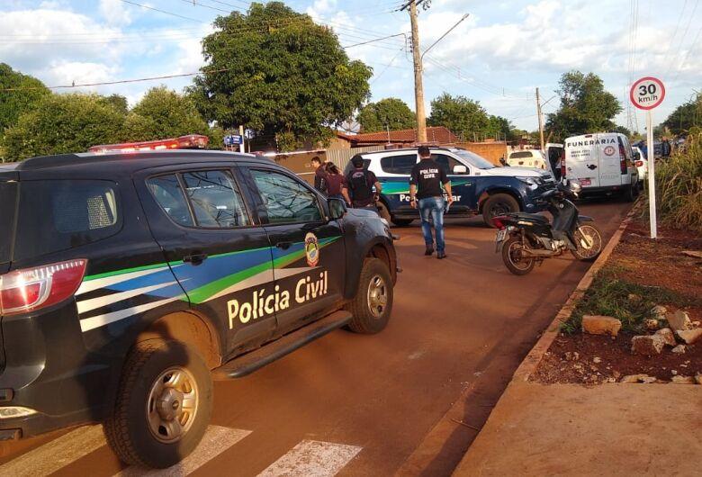 Três morrem em confronto com a polícia nesta manhã