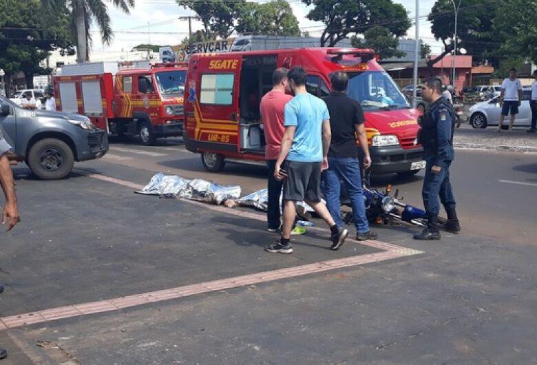 PM de folga mata dois bandidos durante assalto a estudante douradense