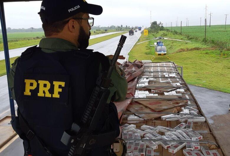 PRF de Dourados apreende R$ 42 milhões em cocaína