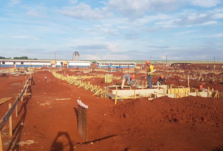 Obras do Hospital Regional de Dourados entram em nova fase
