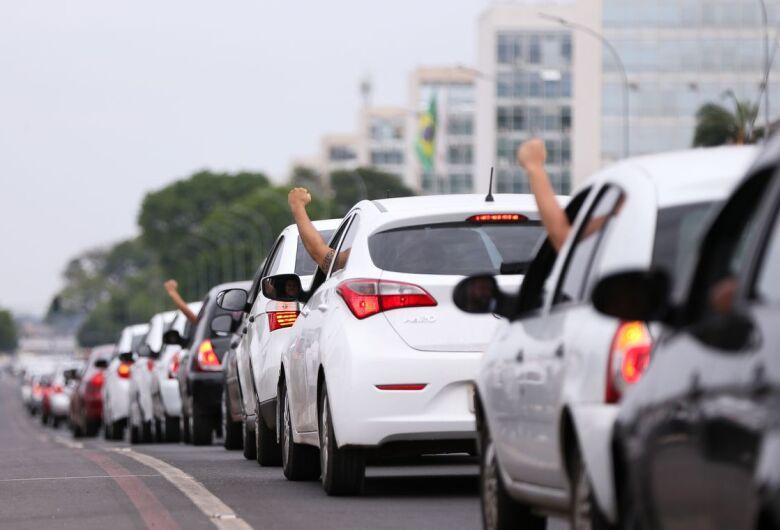 Motoristas de aplicativo poderão inscrever-se como microempreendedor