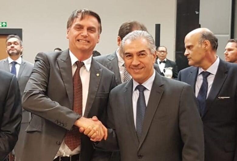Azambuja se reúne com Bolsonaro em Brasília