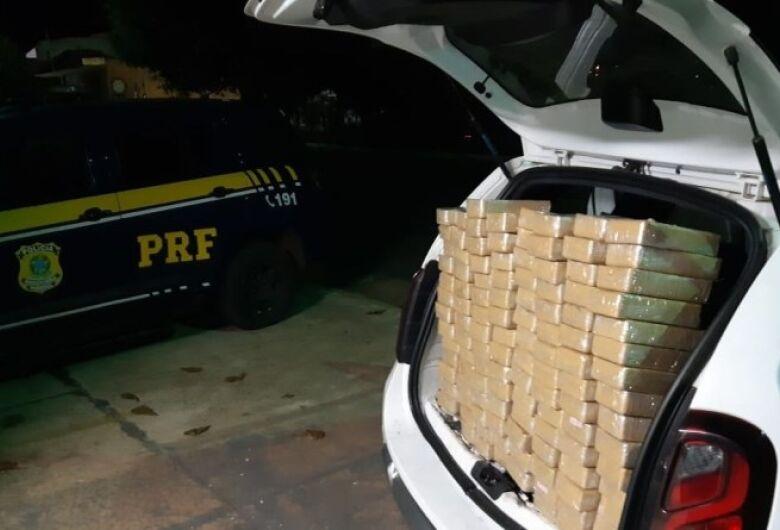PRF apreende cocaína avaliada em R$ 2,4 milhões durante abordagem em rodovia em MS