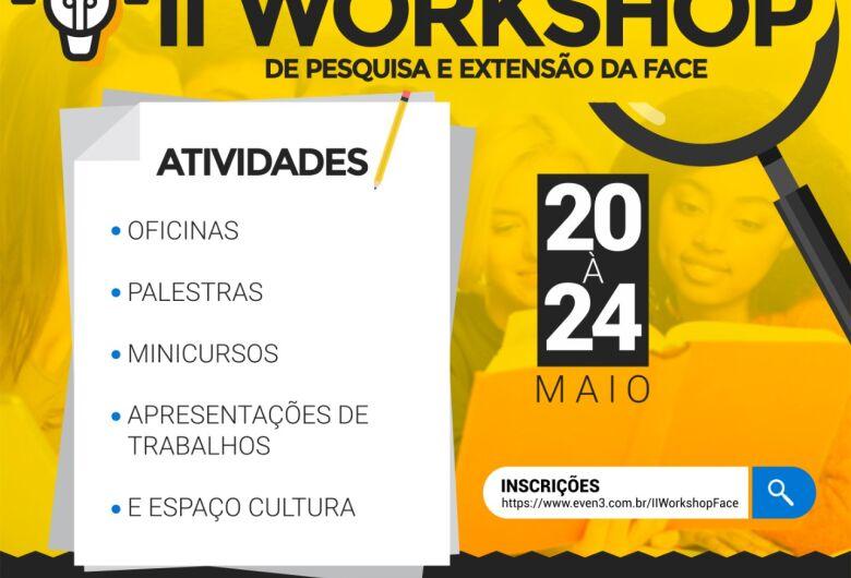 2º Workshop de Pesquisa e Extensão da FACE