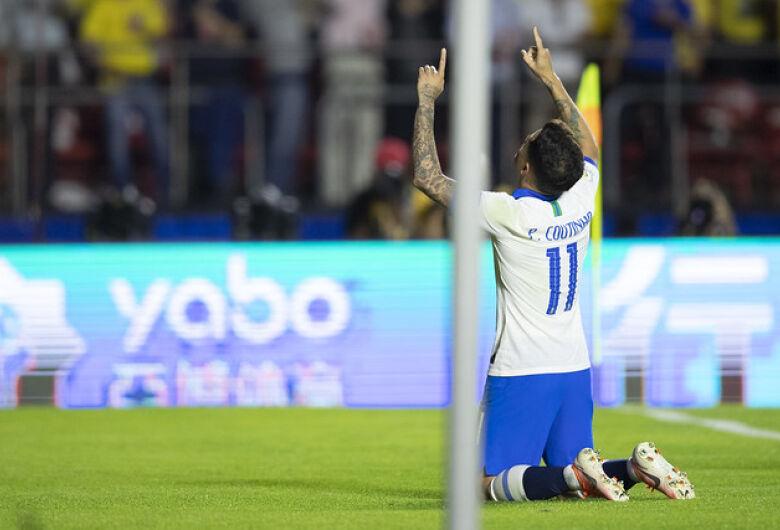 Brasil se recupera de 1º tempo ruim e vence a Bolívia na estreia da Copa América