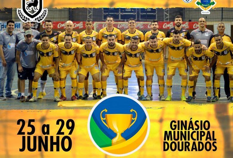 Douradenses iniciam disputa da Taça Brasil de Futsal nesta terça-feira