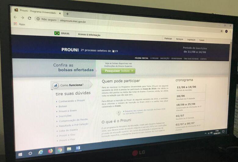 ProUni oferta 169,2 mil bolsas de estudo a partir de hoje