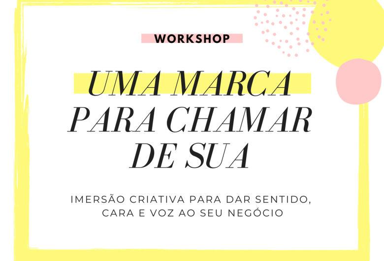 Workshop sobre Criação de Marca e Inovação acontecerá amanhã, 15