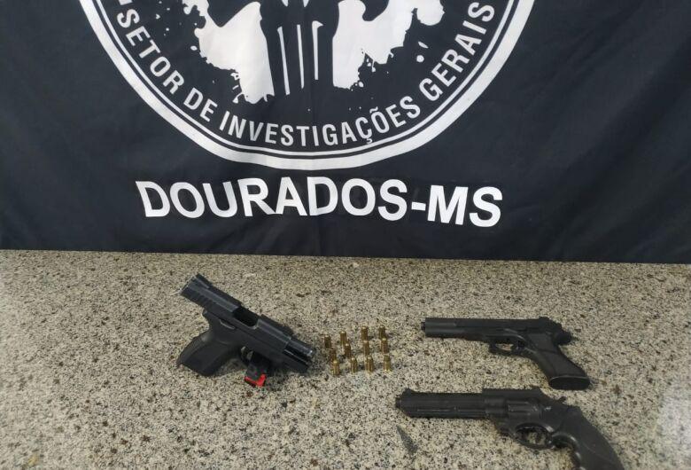 SIG prende autor de roubo de arma de fogo em loja de celulares em Dourados