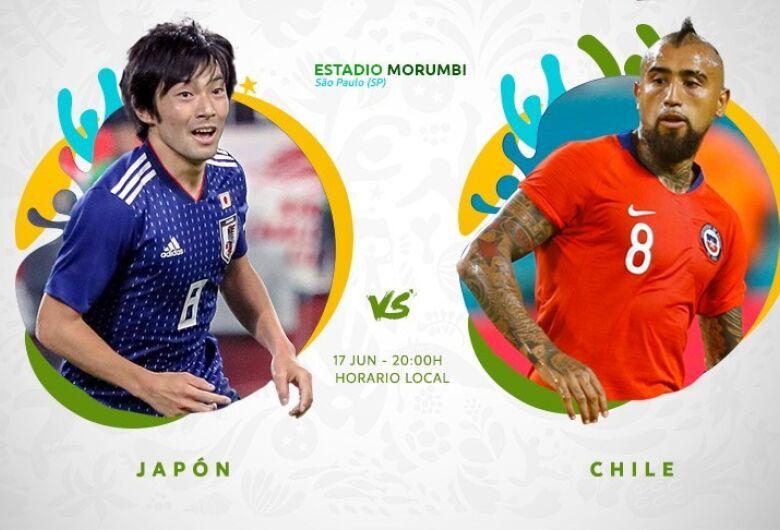 Copa América tem somente uma partida hoje: Japão e Chile