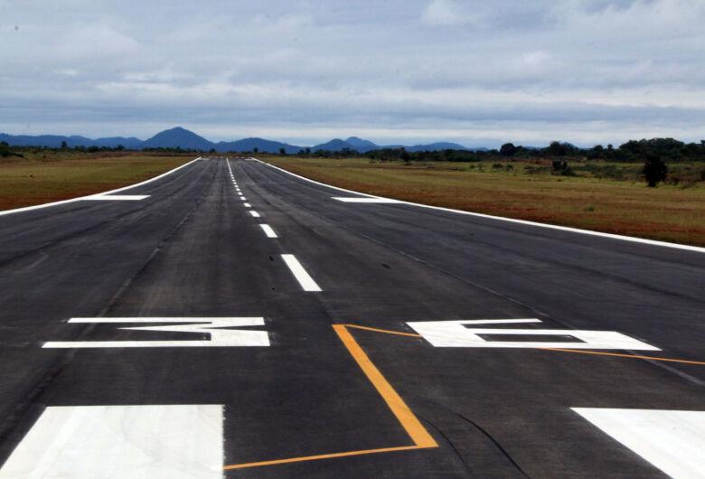 Pista do aeroporto de Bonito é reaberta após restauração