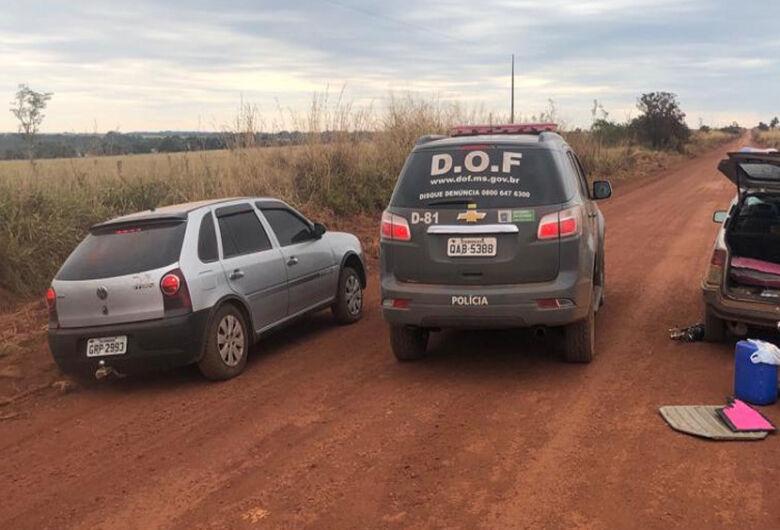 DOF faz apreensão de 100 kg de maconha com foragida da justiça