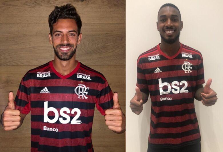 Flamengo anuncia zagueiro espanhol e meia da Roma