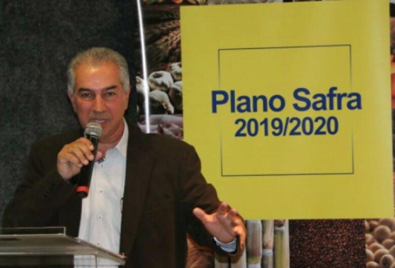 No lançamento do Plano Safra, Reinaldo Azambuja destaca expansão da agropecuária em MS