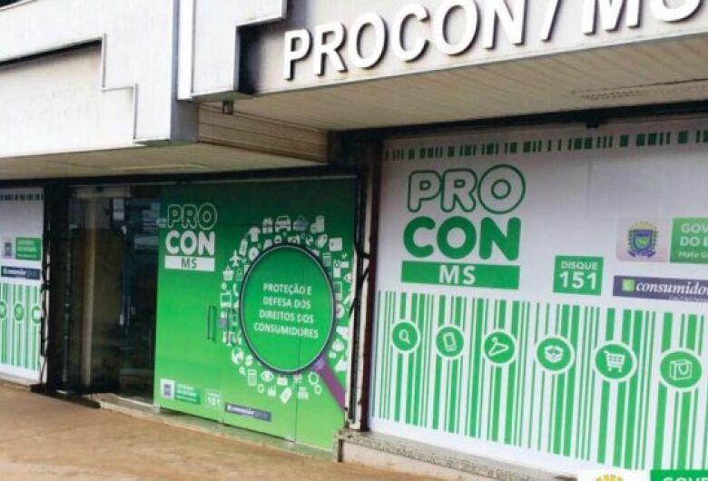 Empresas de telefonia e banco lideram a lista de reclamações no Procon em MS