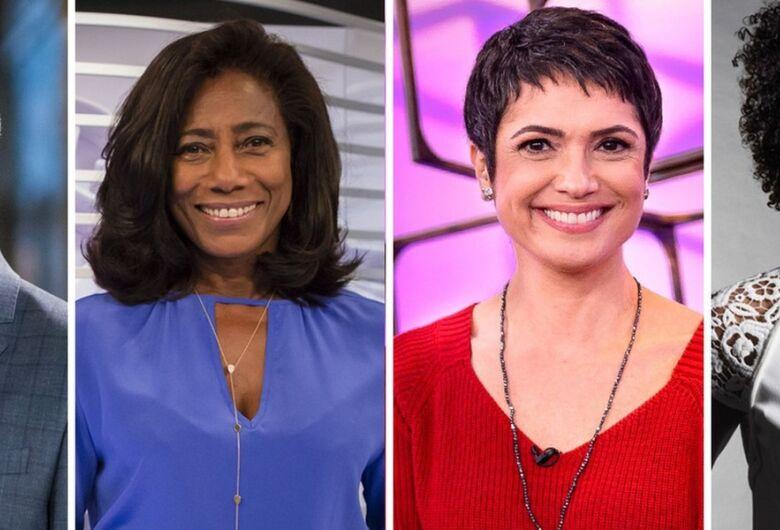 Globo anuncia mudanças de apresentadores no Jornal Hoje e Globo Repórter
