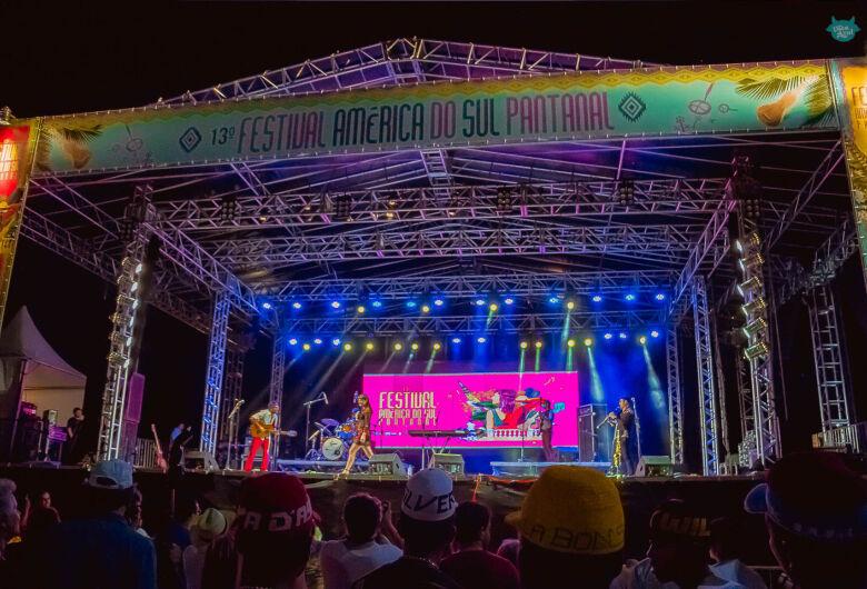 Festival América do Sul Pantanal acontece de 14 a 17 de novembro em Corumbá