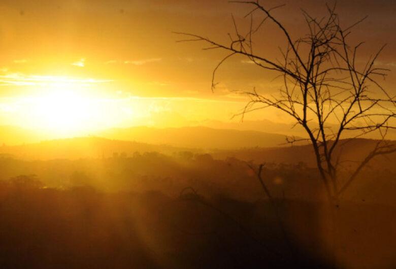 Dia será marcado pela baixa umidade do ar e temperaturas de 39°C em Mato Grosso do Sul