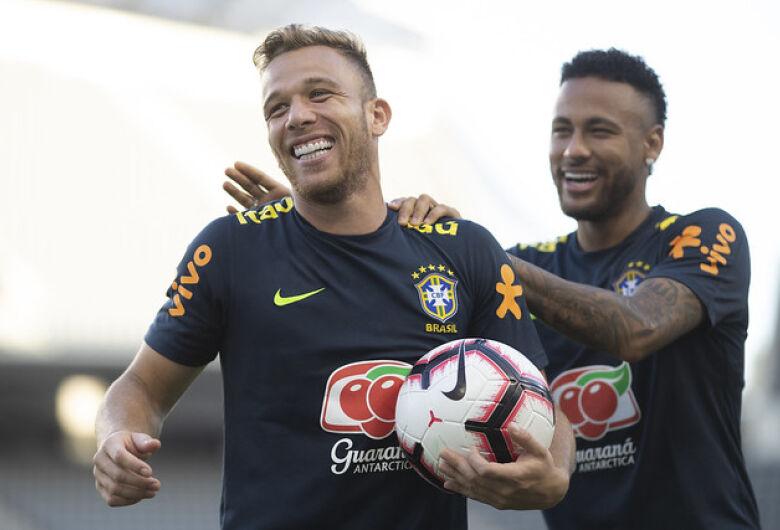 Seleção Brasileira acerta os últimos detalhes para enfrentar o Peru