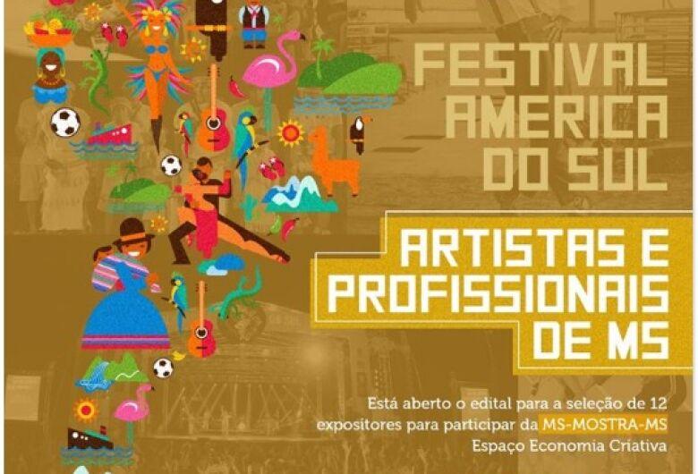 Abertas inscrições para expositores no Festival América do Sul