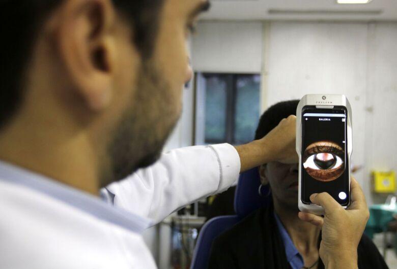 Aparelho portável facilita exames na retina