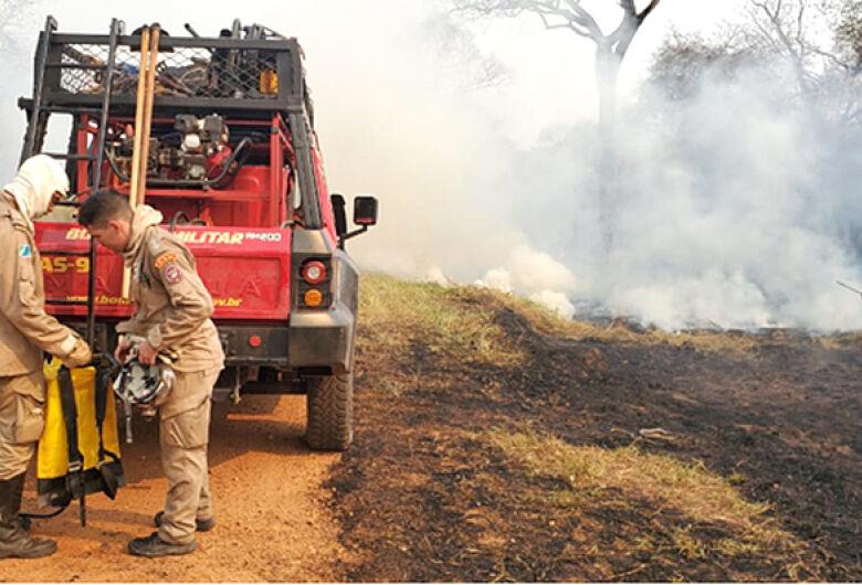Situação de emergência decretada pelo Estado abrange nove municípios atingidos pelas queimadas