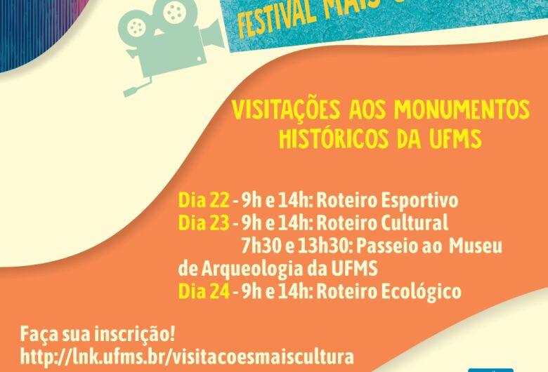 Festival Mais Cultura promove visitações aos monumentos históricos