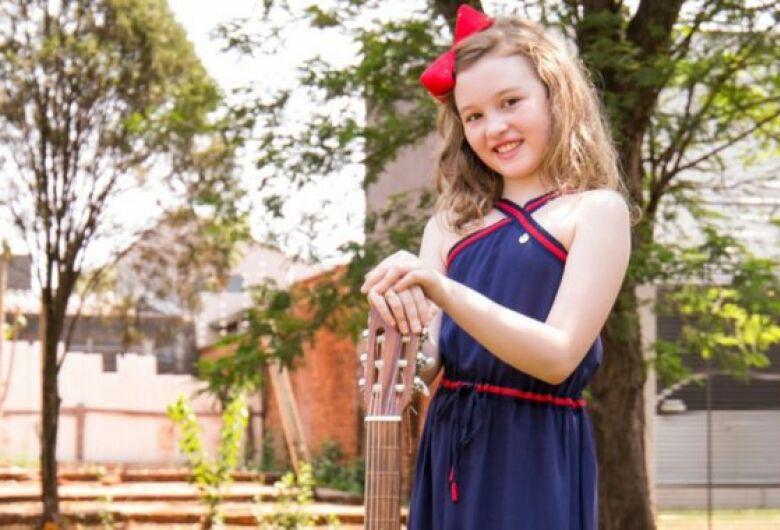 Aluna da Escola do Sesi de Dourados é finalista do 5º Festival de Música Escolar Morena