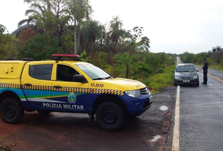 Polícia Militar registra cinco acidentes e uma morte nas rodovias estaduais no feriadão