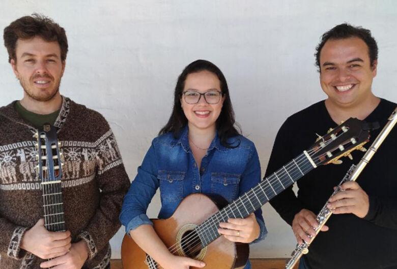 Trio Sonoros Brasil encerra Festival Douradense de Música