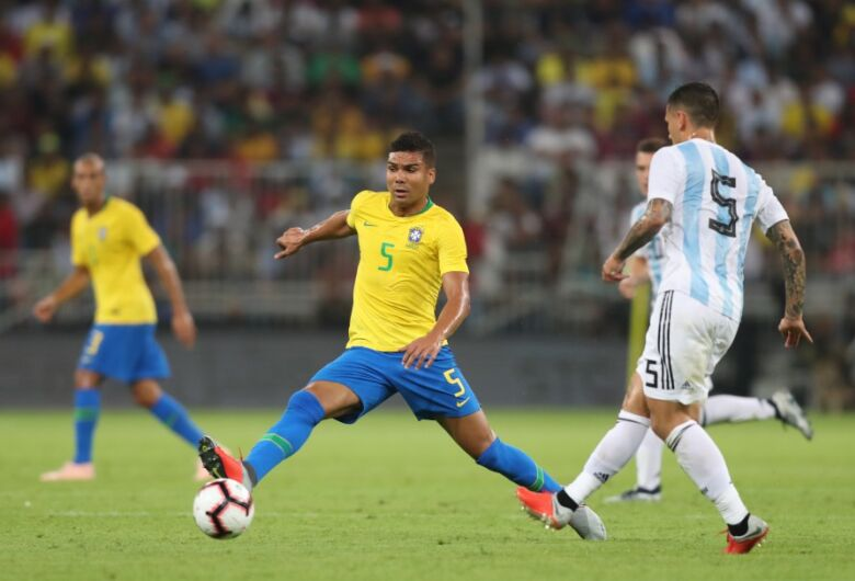 Seleção Brasileira enfrenta a Argentina nesta sexta-feira em Riade