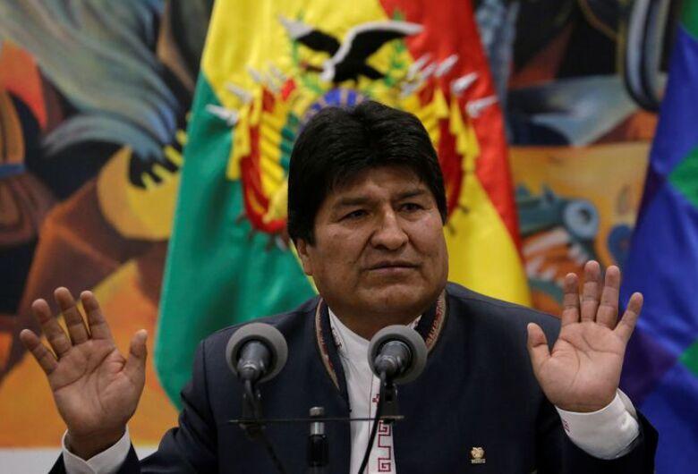 Ex-presidente da Bolívia chega ao México ainda hoje