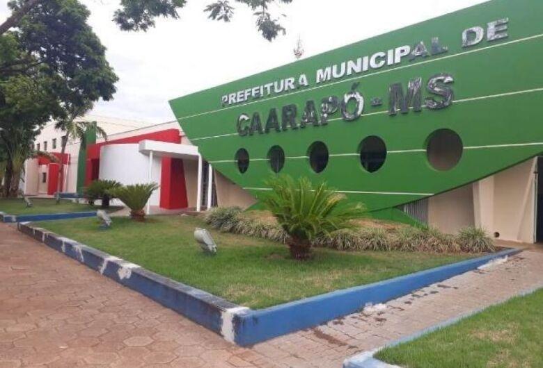 Prefeitura de Caarapó abre concurso com salários de até R$ 9.809