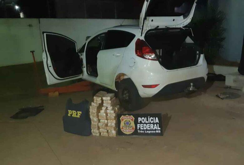 Guarda municipal lotado em Ponta Porã é preso com 35 quilos de cocaína