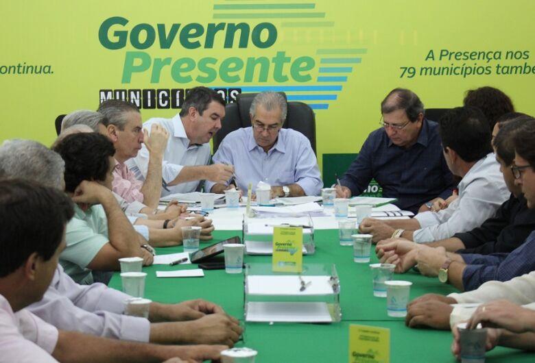 Governador recebe prefeitos de 17 cidades em reuniões em Dourados