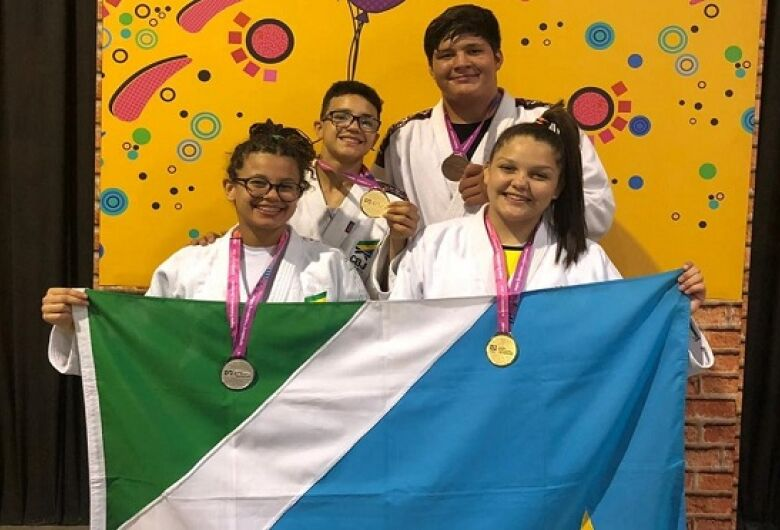 Judô de MS iguala número de medalhas de 2018