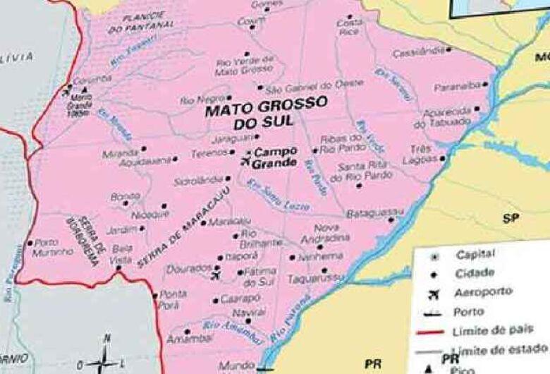 Cinco municípios podem desaparecer do mapa de MS com o Pacto Federativo