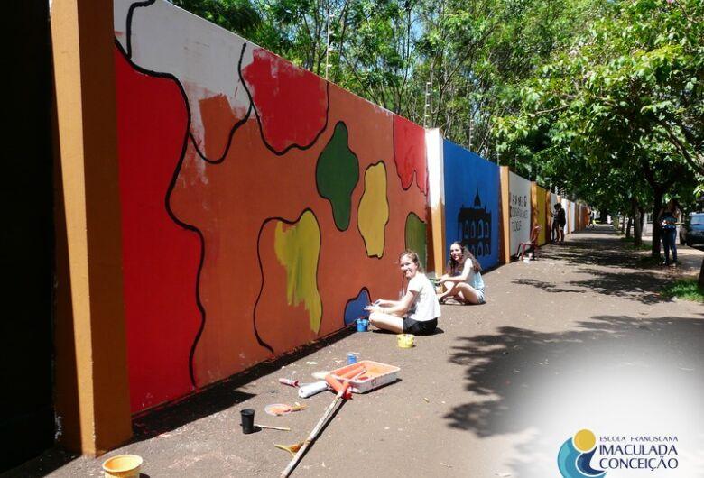 Muro da EIC ganhará novas obras de arte