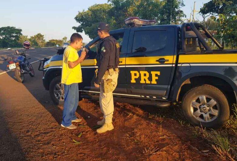 PRF já prendeu três motoristas bêbados nas rodovias de MS neste feriadão
