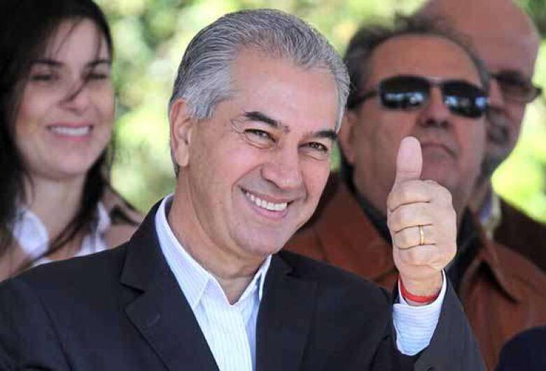 Reinaldo sancionou hoje o pacote que prevê aumento de até 153% para o Fundersul