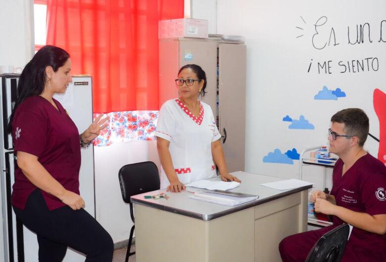 Grupo de voluntários realizam hoje doação de sangue no Hospital Regional de Pedro Juan Caballero
