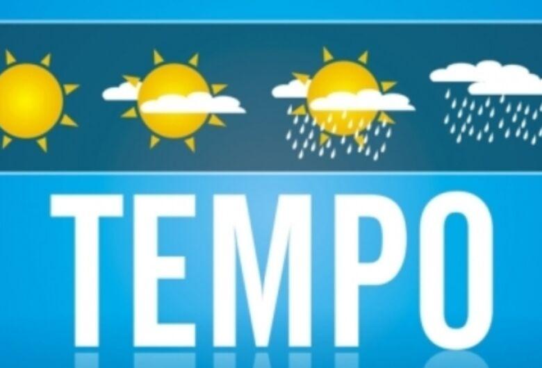 Tempo continua parcialmente com possibilidade de chuva nesta terça-feira em Dourados