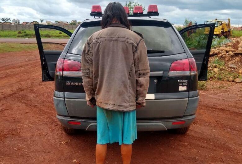 Mulher é presa ao matar marido a facada em aldeia